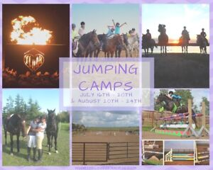 Overnight Jumping Camps REGISTER TODAY