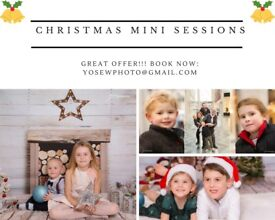 Christmas Mini Photo Sessions in Leeds