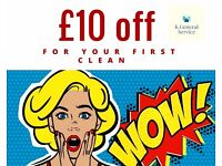 £10 OFF - cleaning service. Domestic and commercial