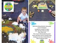 NE Messy Monsters Messy Play Event 30th June 2018