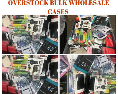 Bulk Wholesale Lot of 55 Mixed Cell Phone Cases and Accessories ASSORTED](Accessories Wholesale)