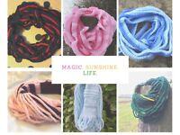 Crochet Scarves - Handmade
