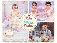 Cake Smash & Splash Photo Session