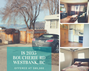 Trailer for sale in West bank bc $69.000