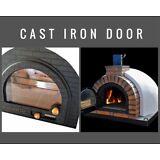 Wood fired  pizza oven - Cast Iron Glass Door - DIY Wood fired Pizza Ovens