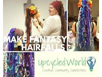 Make Your Own Fantasy Hair Falls! Sunday 28th Jan, 1pm - 4pm
