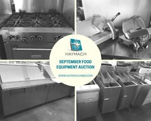 September Online Restaurant Equipment Auction - True/Garland/Imperial/Pitco/MKE/Bakers Pride