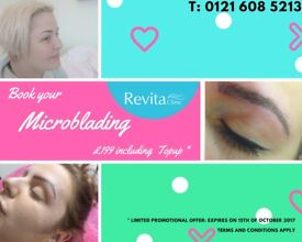 £199 Microblading incl. Topup - Book in your FREE consultation and get your perfect eyebrows !