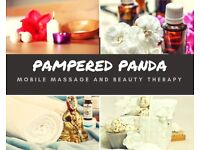 Pampered Panda Mobile Beauty and Massage Therapy