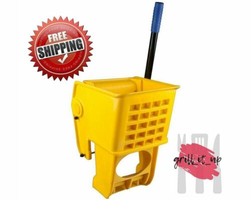 Yellow Replacement Mop Bucket Side Press Wringer for 36 Qt. Mop Bucket