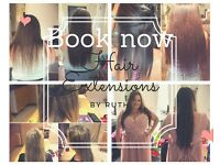 Hair Extensions service Coventry Warwickshire using only the best 100% Indian Remy Hair