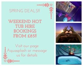 Hot tub party hire