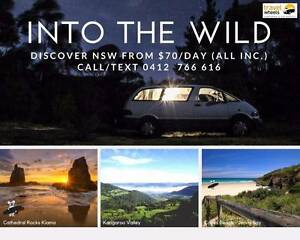 4 days SPECIALS from $280 (all Inc.) rent a campervan in SYDNEY Brisbane City Brisbane North West Preview