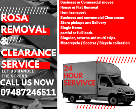 24hour Cheap removal service & clearances fast response