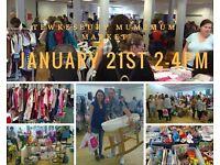 Tewkesbury Mum2mum Market January 21st 2-4pm