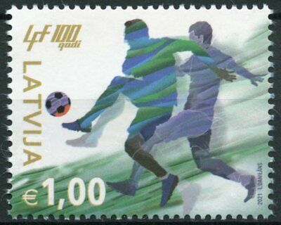 Latvia 2021 MNH Sports Stamps Latvian Football Federation 100 Yrs Soccer 1v Set
