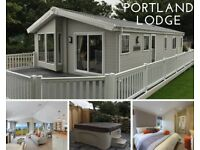WILLERBY PORTLAND LODGE/HOLIDAY HOME - 20X40'' - HOT TUB - PRIME LOCATION - HUGE SPEC - DECKING+MORE