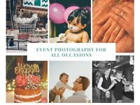 Event & Family Photographer - Photography from £30
