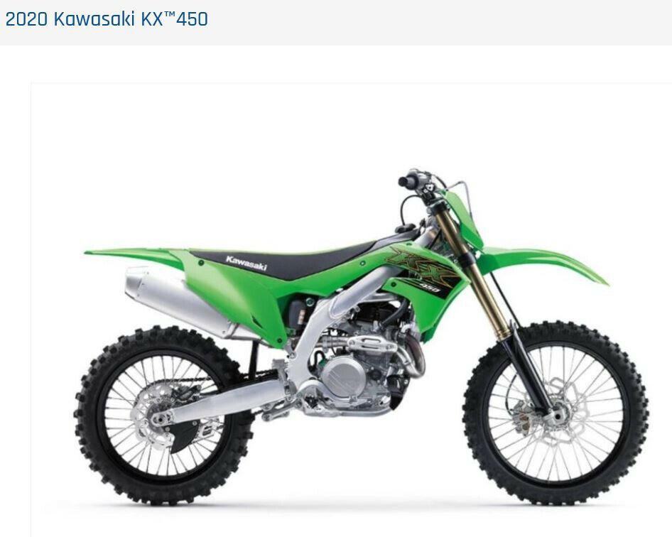 Picture of A 2020 Kawasaki KX450