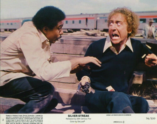 SILVER STREAK (1976) Original 8x10 Color Set - Gene Wilder - Richard Pryor