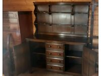 Ercol Elm Wood 1970's dresser