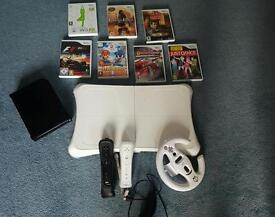 Wii with wii fit