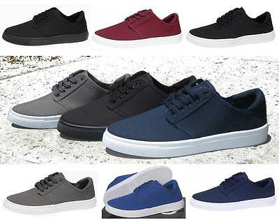 NEW MEN'S CANVAS SKATE BOARD STYLE SHOES HAWK