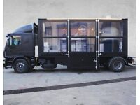 Pizza truck mobile catering