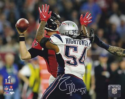 Dont A Hightower New England Patriots Signed Autographed Sb Sack 8X10