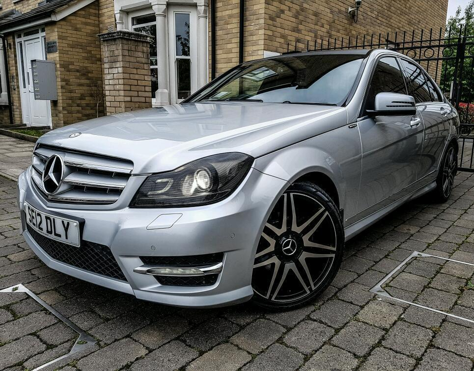 mercedes c220 amg sport 7g tronic 2012 amg black series one of a kind tax mot in. Black Bedroom Furniture Sets. Home Design Ideas