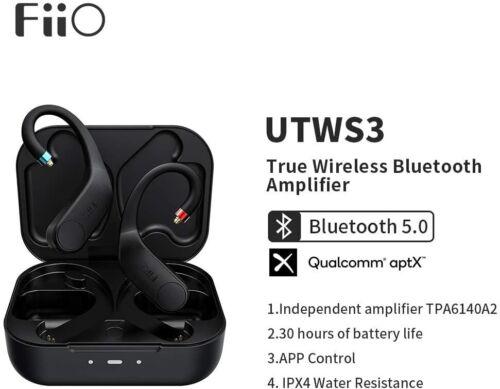 FiiO UTWS3 Bluetooth Earbuds Hook Wireless Amplifier MMCX Connector