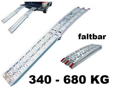 Aluminio Rampa de Salida Carril de Carga Muelle Rampa Plegable 340-680 KG