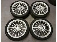 Mercedes amg alloy wheels