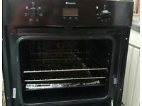 ****LOOK***Integrated electric hotpoint oven and gas hob