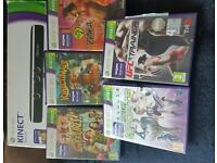 Xbox 360 kinect only with games