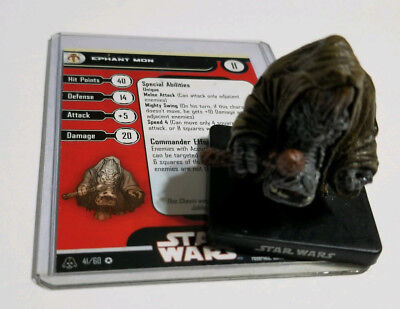 Star Wars MINIATURES Alliance & Empire Ephant Mon 41/60 VR - Free Shipping!!