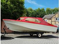 Sold subject to collection ................Shetland 535 cabin cruiser / fast fishing boat