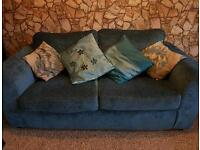 Two sets of three seats sofa in good condition