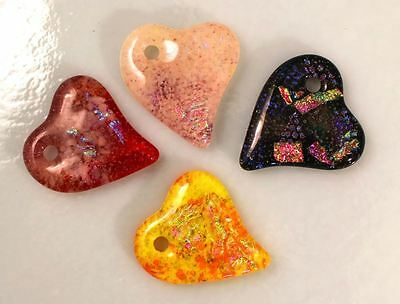 Holey Quad Hearts Mold - Glass Fusing