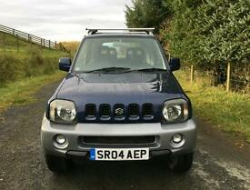 4x4 Suzuki Jimny LOW MILEAGE Long MOT Great For Winter