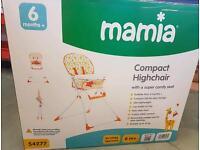 Brand new aldi mamia highchair
