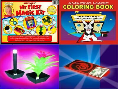 Magic Kits For Kids (Jim Stott's 'My First Magic Kit' for Kids, Tricks Set Girls and...)