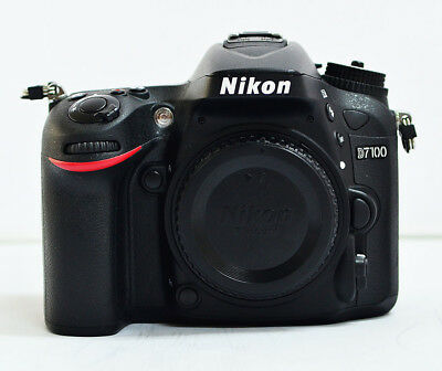 Nikon D D7100 24.1MP Digital SLR Camera - Black (Body Only) for sale  Shipping to Canada