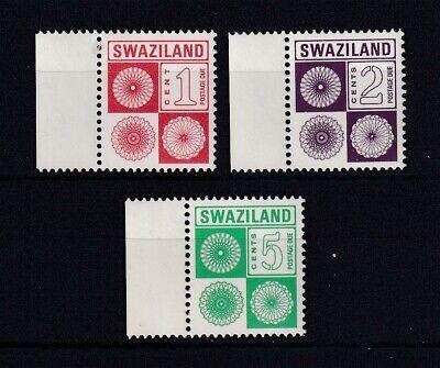 SWAZILAND 1978 Postage Due Set MNH