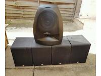 5 x whafdale speakers