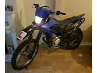 Wr 125 x 2013 6400 miles off road