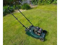 Hayter Hawk Petrol Push Mower with Roller