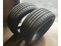 2 brand new tyres 225/40/18s (civic,lexus,accord,altezza,Bora,Leon,passat,jetta,golf,bmw,wheels)