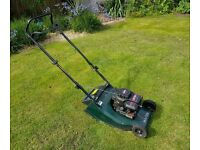 Hayter Hawk Petrol Push Mower with Roller & Grass Collection Box