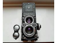 Rollieflex 3.5f 1964 Zeiss planar great condition for age
